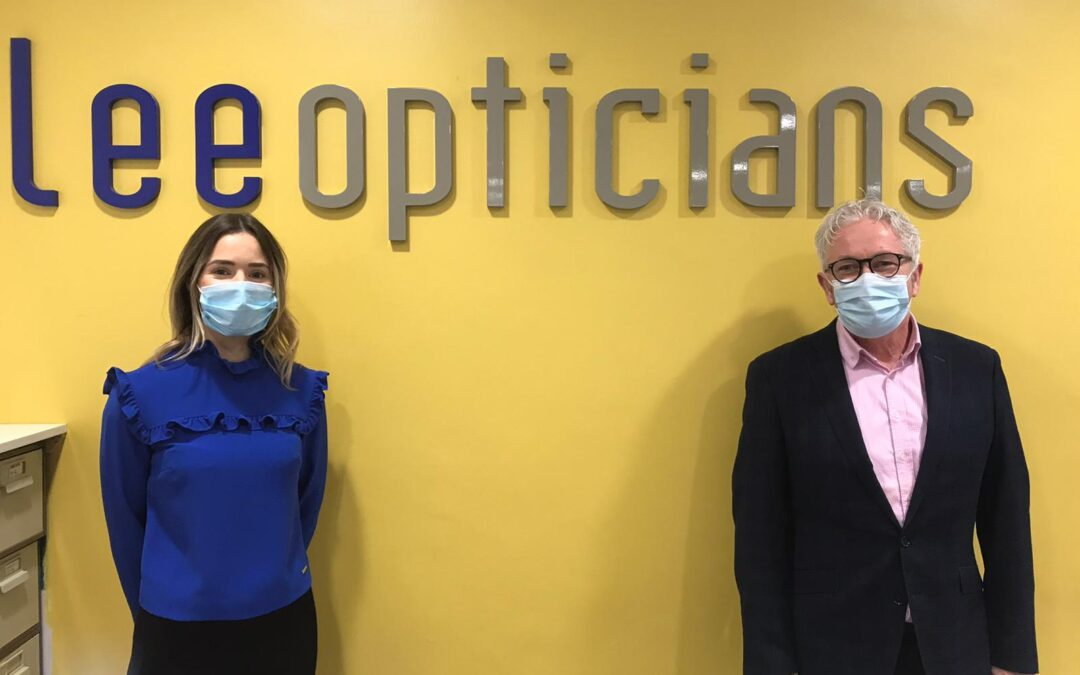 Lee Opticians Welcome Speech & Language Therapist, Lynda Hanratty