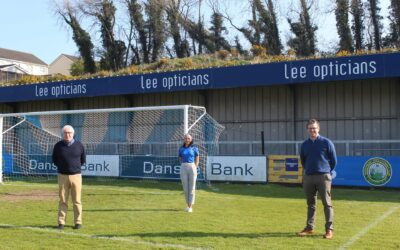Lee Opticians continue business partnership with Warrenpoint Town FC
